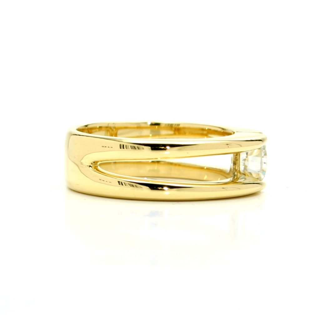 Damenring 750 Gelbgold Brillant-1ct_2